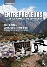 Entrepreneurs : Talent, temperament and opportunity (3RD)