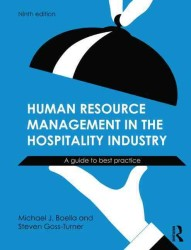 Human Resource Management in the Hospitality Industry : A Guide to Best Practice (9TH)