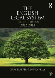 The English Legal System, 2012-2013 (13 Revised)