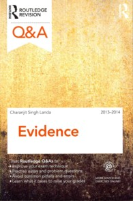 Evidence 2013-2014 (Questions and Answers) (10TH)