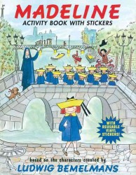 Madeline ACTIVITY BOOK WITH STICKERS (Reprint)