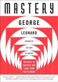 Mastery : The Keys to Success and Long-Term Fullfillment (Reissue)