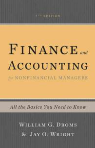 Finance and Accounting for Nonfinancial Managers : All the Basics You Need to Know (7TH)