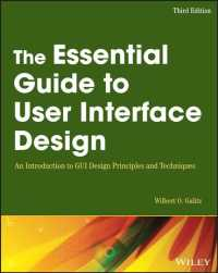 The Essential Guide to User Interface Design : An Introduction to GUI Design Principles and Techniques (3RD)