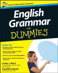 English Grammar for Dummies (For Dummies S.) -- Paperback