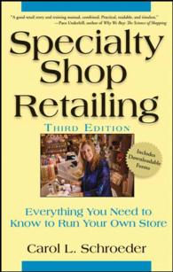 Specialty Shop Retailing : Everything You Need to Know to Run Your Own Store (3RD)