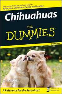 Chihuahuas for Dummies (For Dummies (Pets)) (2ND)