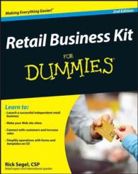 Retail Business Kit for Dummies (For Dummies) (2 PAP/CDR)