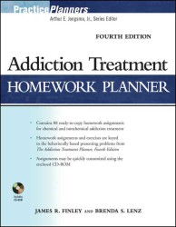 Addiction Treatment Homework Planner (Practice Planners) (4 PAP/CDR)