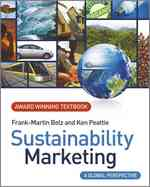 Sustainability Marketing : A Global Perspective (IE)