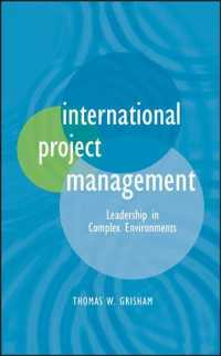 International Project Management : Leadership in Complex Environments