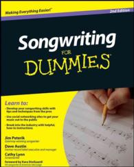 Songwriting for Dummies (For Dummies (Sports & Hobbies)) (2ND)