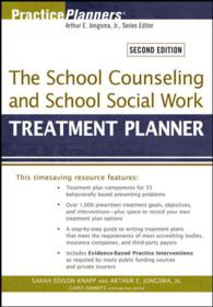 The School Counseling and School Social Work Treatment Planner (Practiceplanners) (2ND)