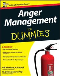 Anger Management for Dummies (For Dummies) -- Paperback