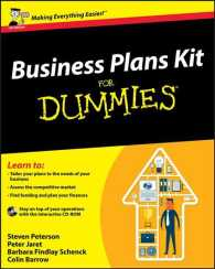 Business Plans Kit for Dummies (For Dummies) -- Paperback