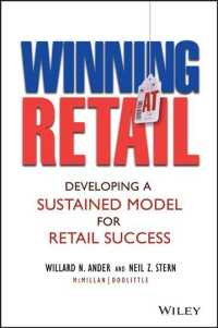 Winning at Retail : Developing a Sustained Model for Retail Success