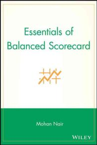 Essentials of Balanced Scorecard (Essentials Series)