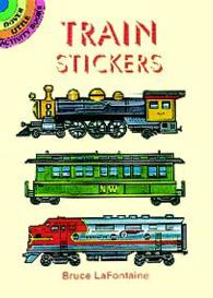 Train Stickers -- Paperback