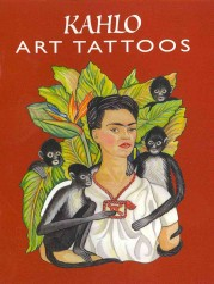 Kahlo Art Tattoos (Dover Tattoos) -- Paperback