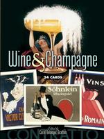 Wine and Champagne : 24 Cards (CSM POS CR)