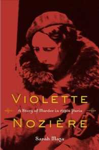 Violette Noziere : A Story of Murder in 1930s Paris