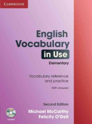 English Vocabulary in Use Elementary with Answers and Cd-rom . 2nd. (2 PAP/CDR)