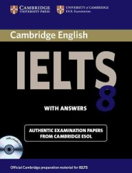 Cambridge Ielts 8 Self-study Pack (5 PAP/COM)
