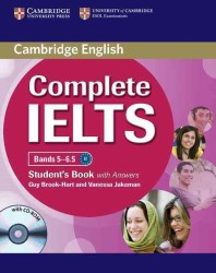 Complete Ielts Bands 5-6.5 Student's Book with Answers with Cd-rom. (1 PAP/CDR)