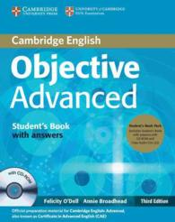 Objective Advanced Student's Book Pack (Student's Book with Answers with Cd-rom and Class Audio Cds ). 3rd. (3 PAP/CDR/)