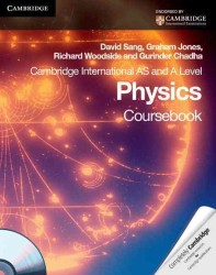 Cambridge International AS and a Level Physics Coursebook (PAP/CDR)