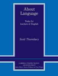 About Language: Tasks for Teachers of English.