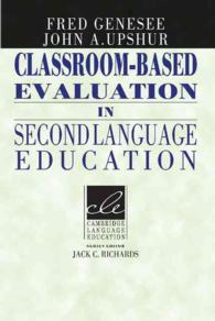 Classroom-based Evaluation in Second Language Education.