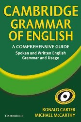Cambridge Grammar of English.