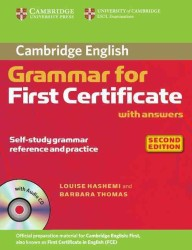Cambridge Grammar for First Certificate 2nd. Ed. : Edition with Answers/audio Cd. (2 PAP/COM)