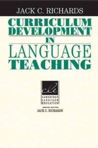 Curriculum Development in Language Teaching.