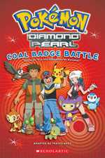 Pokemon Coal Badge Battle (Pokemon Junior Chapter Book)