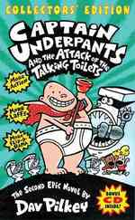 Captain Underpants and the Attack of the Talking Toilets (Captain Underpants) (HAR/COM CO)