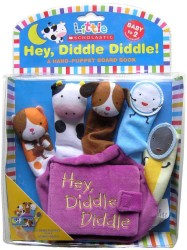 Hey Diddle Diddle : A Hand-Puppet Board Book (Little Scholastic) (NOV BRDBK)