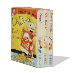 Oh, David! (3-Volume Set) : A Pocket Library <3 vols.> (3 vols.) (BOX BRDBK)