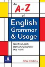 A-z of English Grammar &amp; Usage (N/e) (2R.E.)
