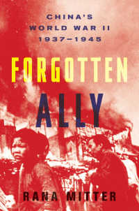 Forgotten Ally : China's World War II, 1937-1945