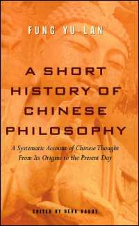 Short History of Chinese Philosophy (Reissue)