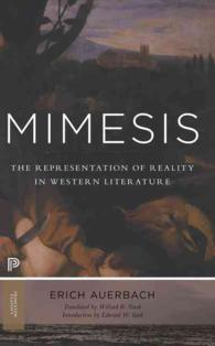 Mimesis : The Representation of Reality in Western Literature (Princeton Classics) (Reprint)