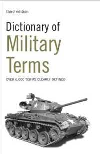 Dictionary of Military Terms (3 Reprint)