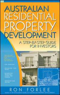 Australian Residential Property Development : A Step-by-step Guide for Investors