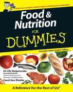 Food and Nutrition For Dummies