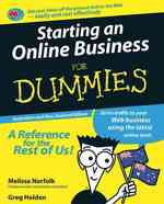 Starting an Online Business for Dummies : Australian & New Zealand Edition