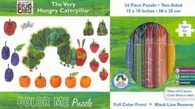 The Very Hungry Caterpillar Color Me Puzzle (The World of Eric Carle) (ACT BOX CL)
