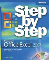 Microsoft Office Excel 2007 Step by Step (Step by Step (Microsoft)) (PAP/CDR)