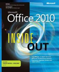 Microsoft Office 2010 inside Out (Inside Out) (PAP/PSC)